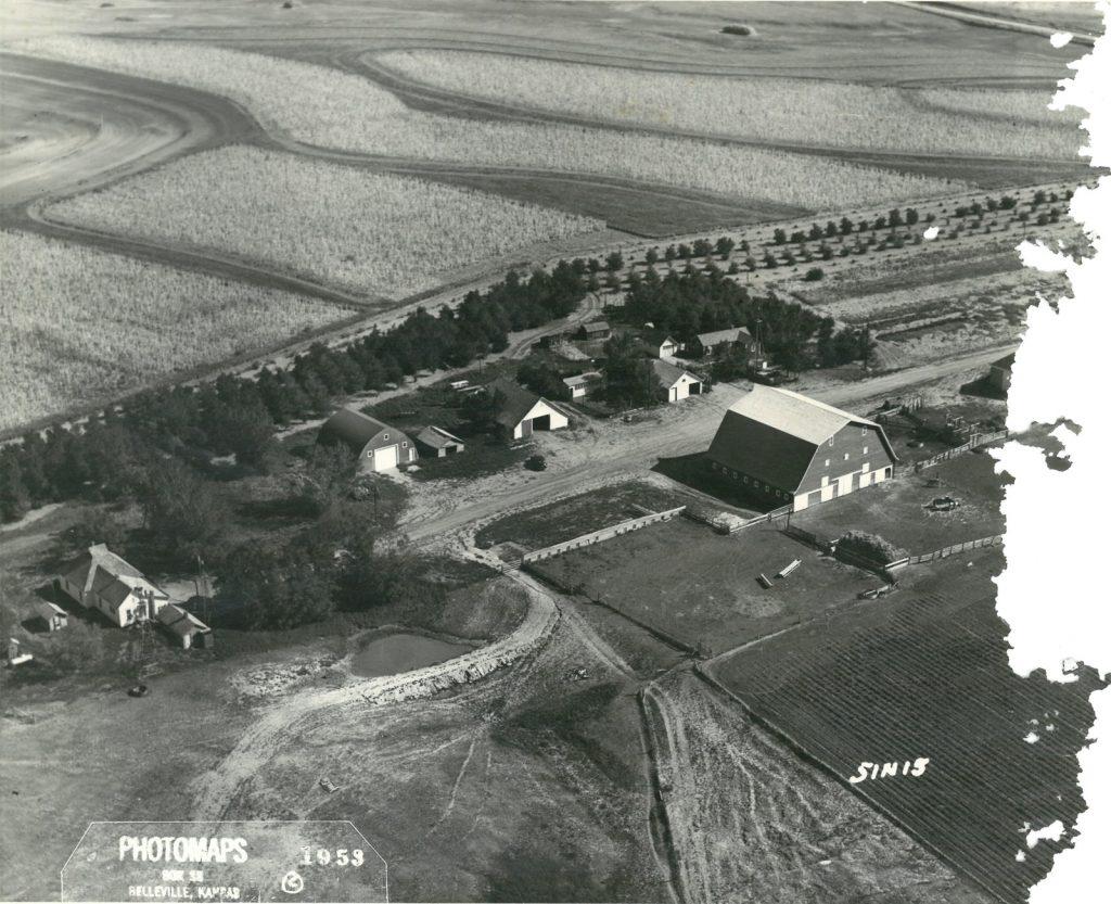 1953_wilson_farm_aerial_photo